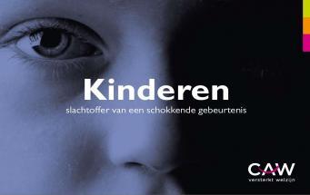 Brochure 'Kinderen slachtoffer van een schokkende gebeurtenis'